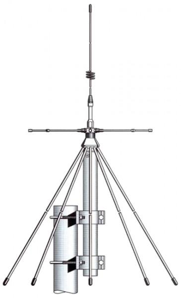 SIRIO SD-2000 N Discone Antenne bis 2 GHz