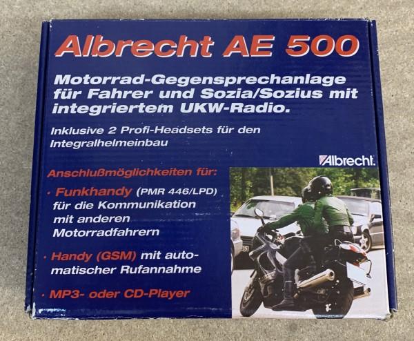 AE500 Motorrad Gegensprechanlage mit UKW Radio