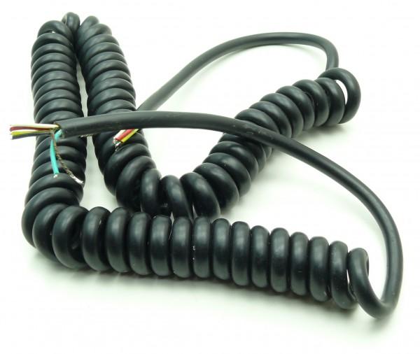 Mikrofon-Spiralkabel