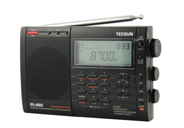 Tecsun PL-660 PLL SSB Weltempfänger