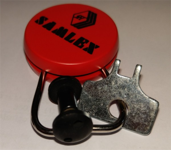 Diebstahlset mit Schlüsselanhänger