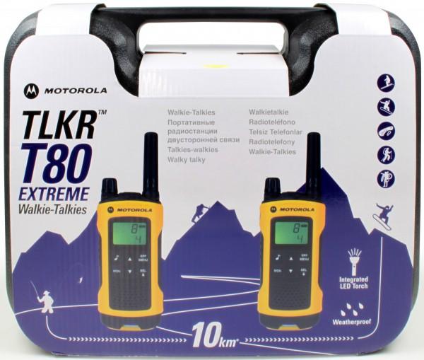 Motorola TLKR T80 Extreme Kofferset