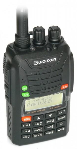 Wouxun KG-UV6D VHF / UHF Handfunkgerät