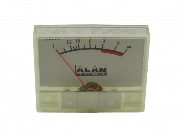 SWR-Einbauinstrument ALAN