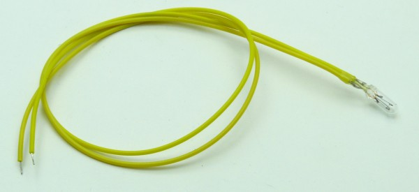 Lämpchen m. Kabel 12V 50mA
