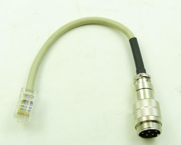 Kenwood Mikrofonadapter Japan 8-Pol auf Western/Modular