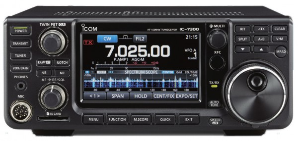 Icom IC-7300 HF/50/70MHz SDR Amateurfunk Transceiver