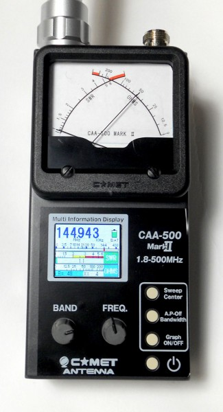 Comet CAA-500 MK II Analyzer