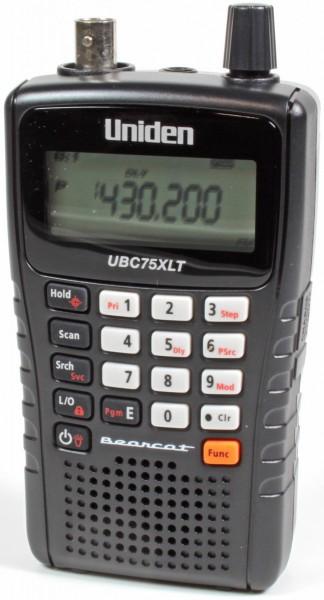 Uniden UBC75XLT Scanner