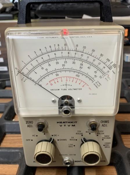 Heathkit VTVM Röhrenvoltmeter gebraucht