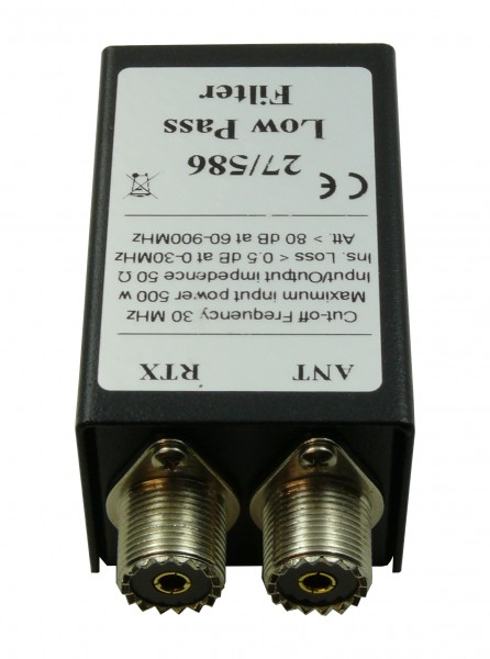 RM 27/586 Tiefpassfilter