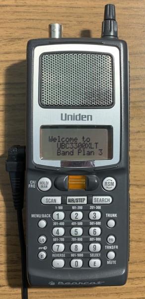 Uniden BC250D Digitalscanner