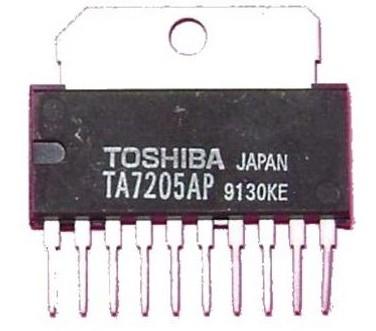 TA-7205 NF Amp IC