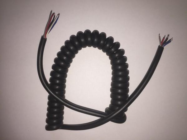 Mikrofon Spiralkabel einfach