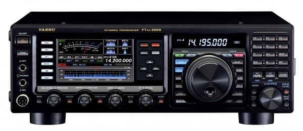 Yaesu FT-DX3000D Kurzwellen / 6m Band Amateurfunktransceiver mit DSP und 100 Watt Sendeleistung