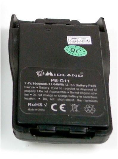 Midland Akku PB-G11 für G11