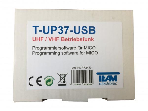 Team T-UP-37 COM VHF / UHF Programmierset f. MiCo VHF/UHF