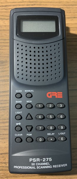 GRE PSR-275 Handscanner gebraucht