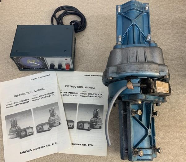 Daiwa DR-7000 Rotor mit Steuergerät gebraucht