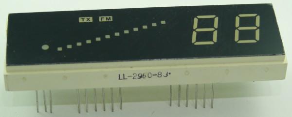 Ersatzdisplay XM 5000
