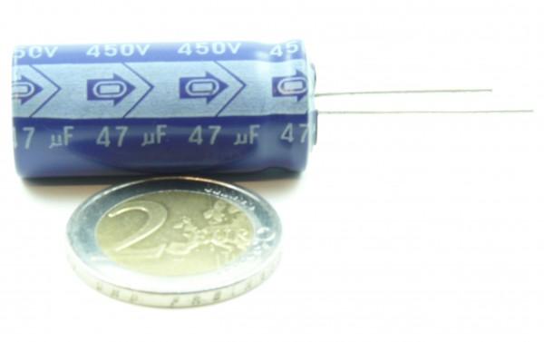 Elko 47µF, 450V radial