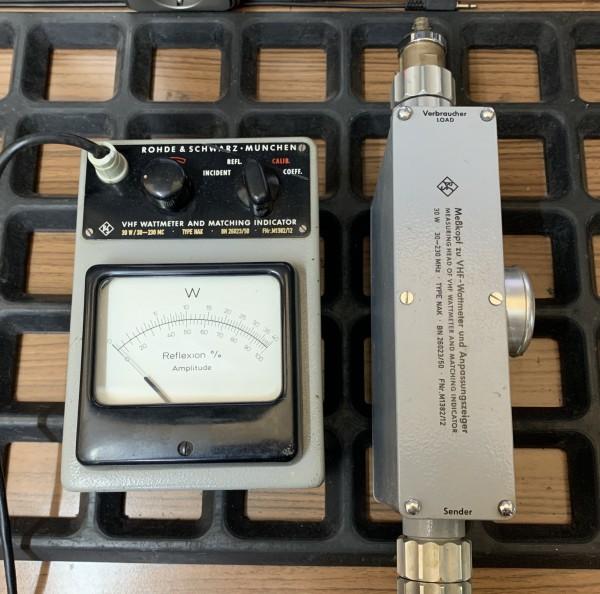 Rohde & Schwarz NAK VHF Wattmeter gebraucht
