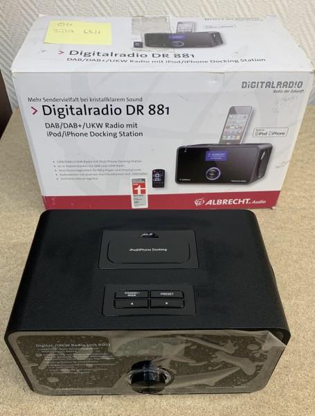 Digitalradio DR881 gebraucht DAB+