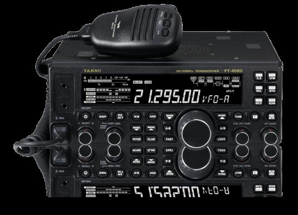 Yaesu FT-450D KW / 6m Transceiver mit DSP