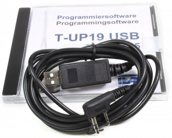 TEAM T-UP19 USB PMR/Freenet Programmierkit- PR2328