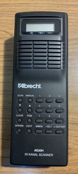 Albrecht AE50H Handscanner NOS